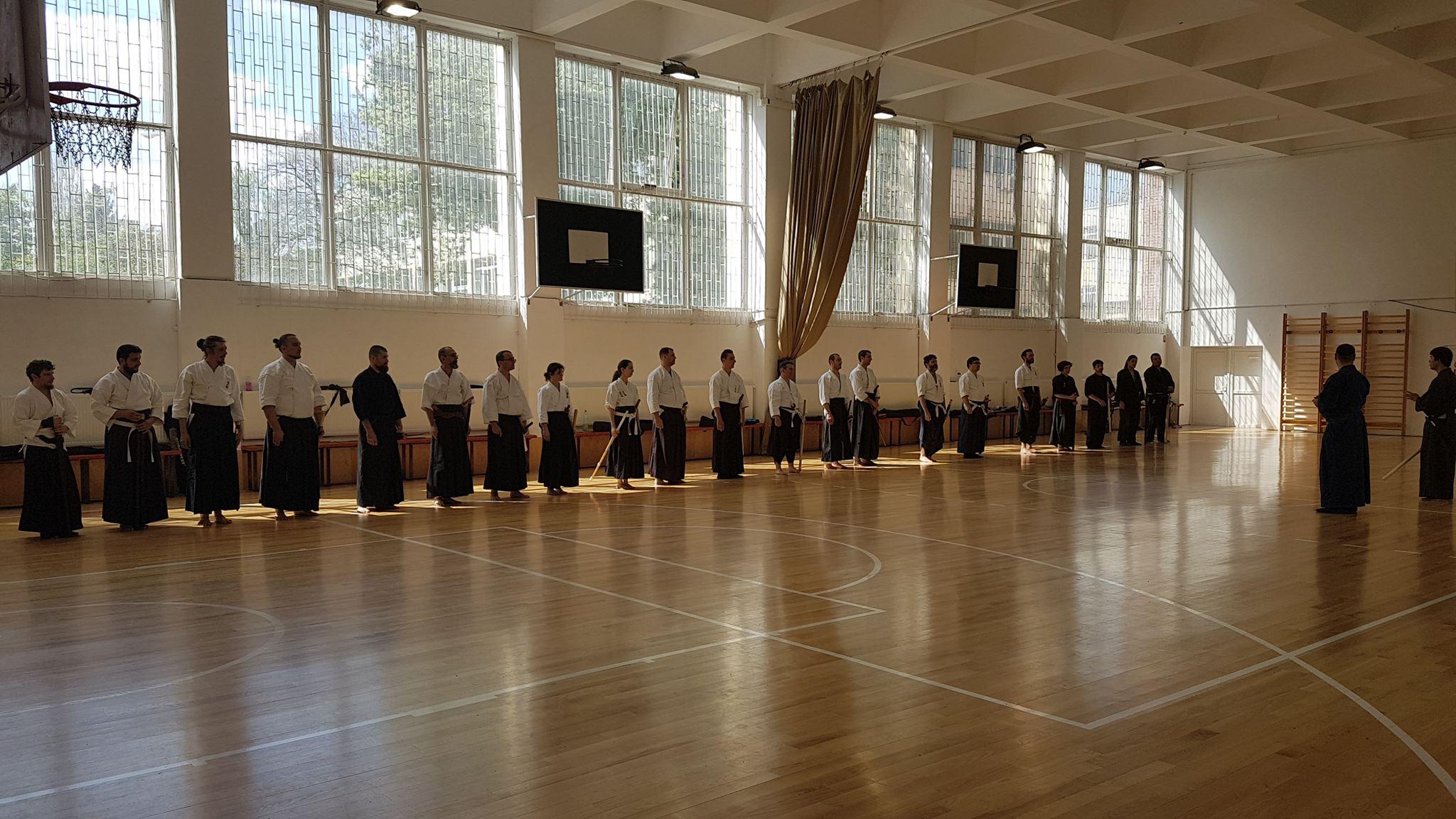 Seminar Kenjutsu 2018 Bucuresti