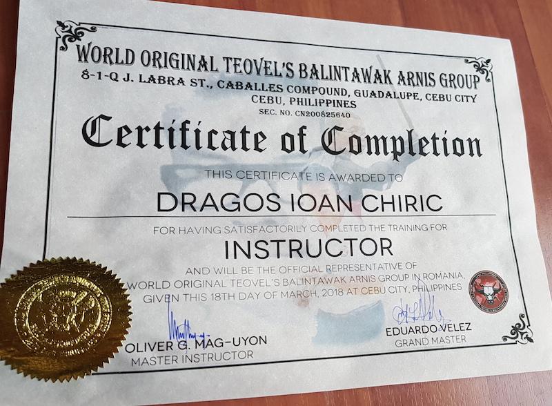 Balintawak_Certificat