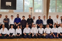 2018 Group photo from Hikita Shinkage Ryu Seminar