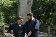 Antrenament Kenjutsu Niten Ichi Ryu