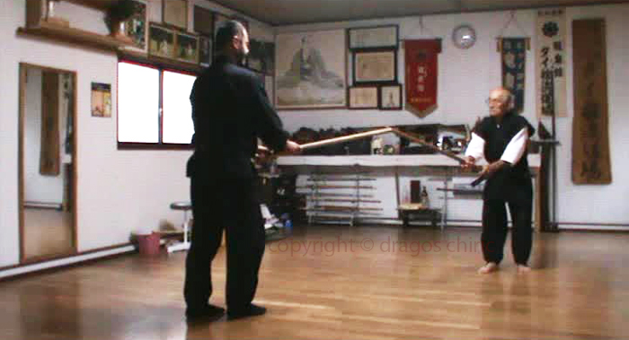 Dragos Chiric and Yamakita Takenori Sensei
