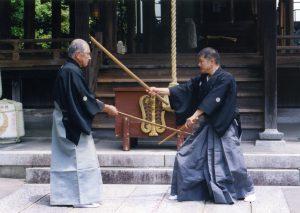 Imai Masayuki Nobukatsu (stanga) - Iwami Toshio Gensho (dreapta)
