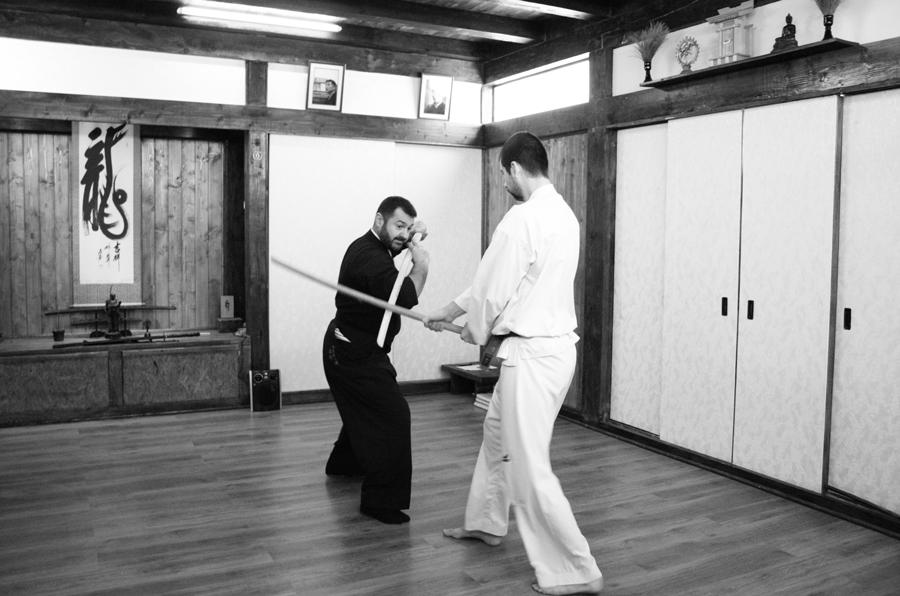 Antrenament Kenjutsu Dragos Chiric